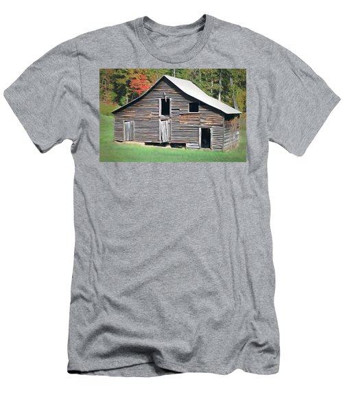 Mountain Barn Men's T-Shirt (Slim Fit) by Marion Johnson