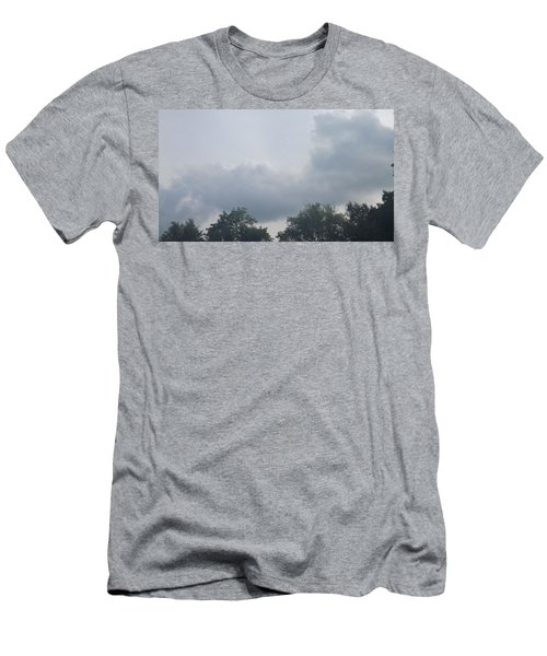 Mountain Clouds 4 Men's T-Shirt (Slim Fit) by Don Koester