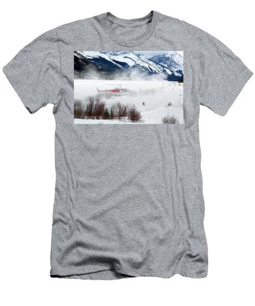 Mountain Landing Men's T-Shirt (Athletic Fit)