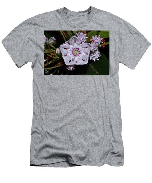 Mountain Laurel 005 Men's T-Shirt (Athletic Fit)