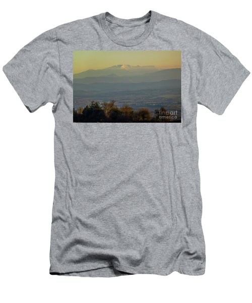 Mountain Scenery 8 Men's T-Shirt (Athletic Fit)