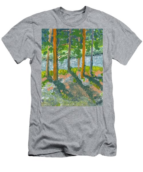 Mountain Valley Men's T-Shirt (Slim Fit) by Rodger Ellingson