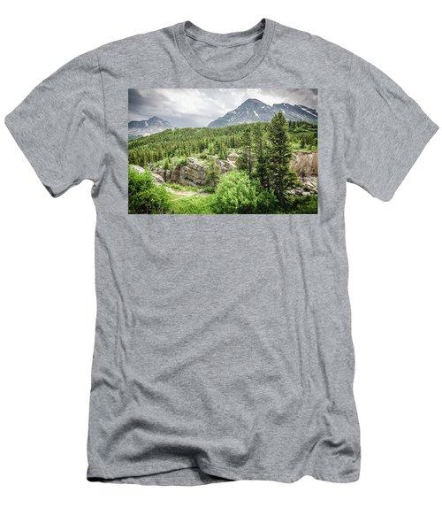 Mountain Vistas Men's T-Shirt (Athletic Fit)