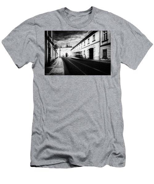 Street Tram Men's T-Shirt (Athletic Fit)