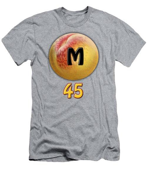 Mpeach 45 Men's T-Shirt (Athletic Fit)
