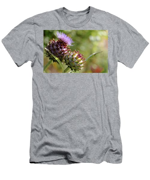 Mr And Mrs Thistle  Men's T-Shirt (Slim Fit) by Jeremy Lavender Photography