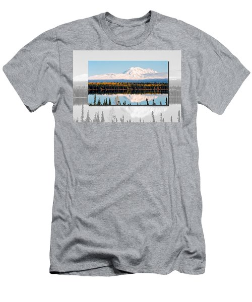 Men's T-Shirt (Slim Fit) featuring the photograph Mt. Drum - Alaska by Juergen Weiss