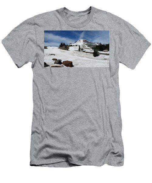 Mt. Hood In June Men's T-Shirt (Athletic Fit)