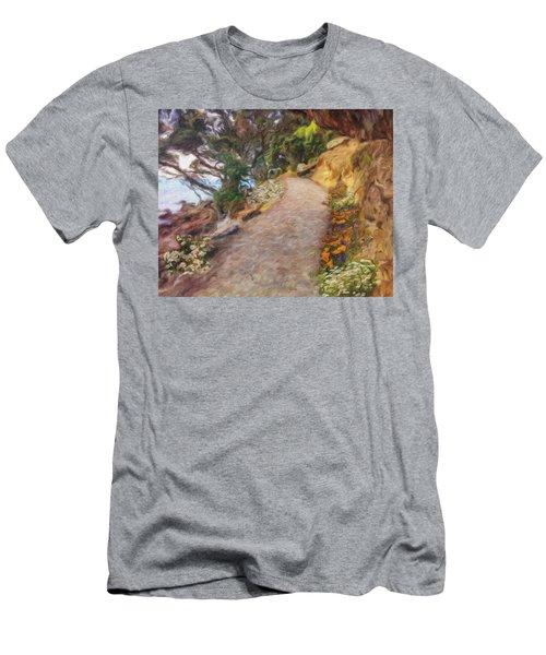 Mt. Maunganui Base Walk Men's T-Shirt (Athletic Fit)