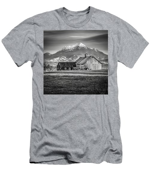 Mt Pilchuck Men's T-Shirt (Slim Fit) by Tony Locke
