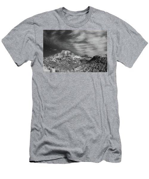 Mt. Rainier Men's T-Shirt (Athletic Fit)