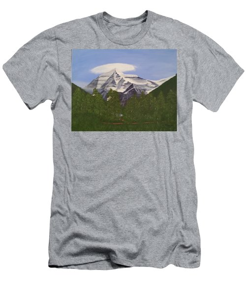 Mt. Robson, Bc Men's T-Shirt (Athletic Fit)