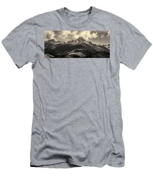 Men's T-Shirt (Athletic Fit) featuring the photograph Mt. Sneffels by Angela Moyer