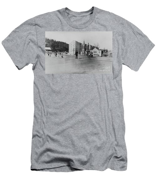 Men's T-Shirt (Athletic Fit) featuring the photograph Mt. Washington Church  by Cole Thompson
