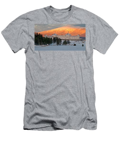 Mt. Washinton Hotel Men's T-Shirt (Athletic Fit)