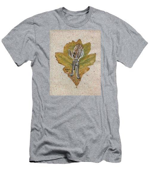 Mule Dear Fawn Men's T-Shirt (Slim Fit) by Ralph Root