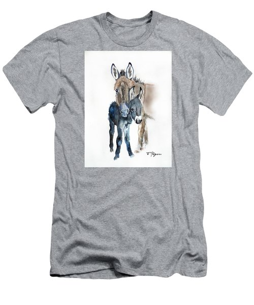Mummy Donkey Men's T-Shirt (Athletic Fit)