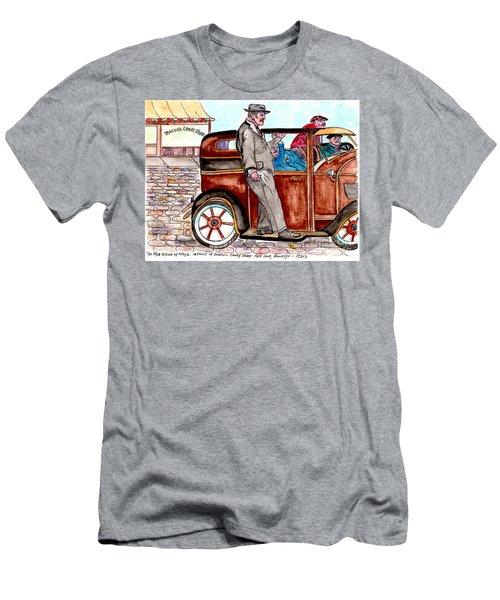Murder On Hamilton Avenue, Red Hook, Brooklyn Men's T-Shirt (Slim Fit)