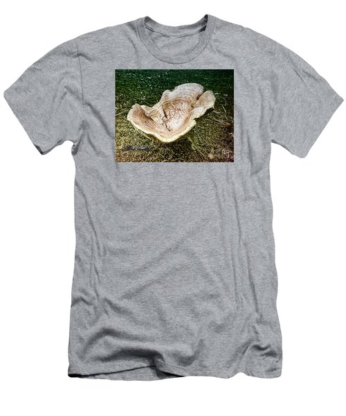 Mushroom  1 Men's T-Shirt (Slim Fit) by Melissa Messick