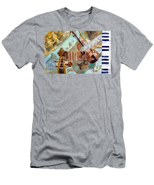 Music Shop Men's T-Shirt (Slim Fit)