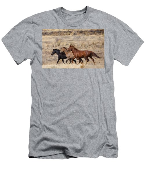 Mustang Trio Men's T-Shirt (Athletic Fit)