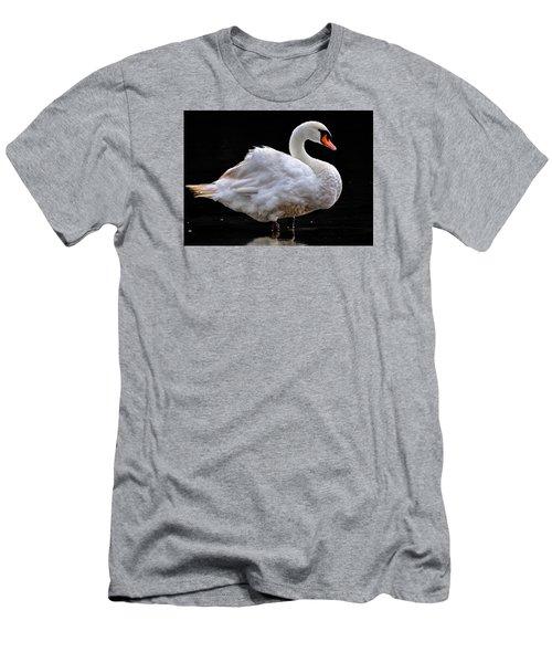 Mute Swan 3 Men's T-Shirt (Slim Fit) by Brian Stevens