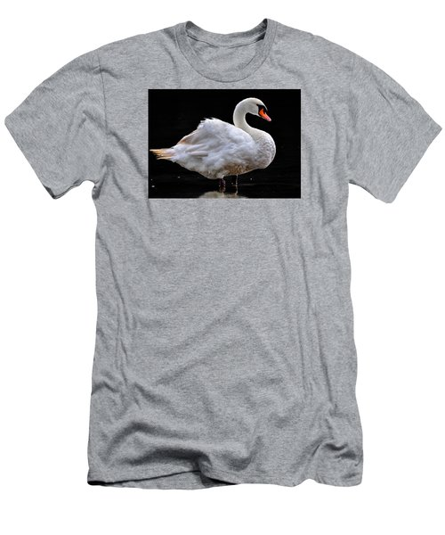 Mute Swan 3 Men's T-Shirt (Athletic Fit)