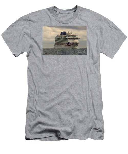 Mv Britannia 2 Men's T-Shirt (Athletic Fit)