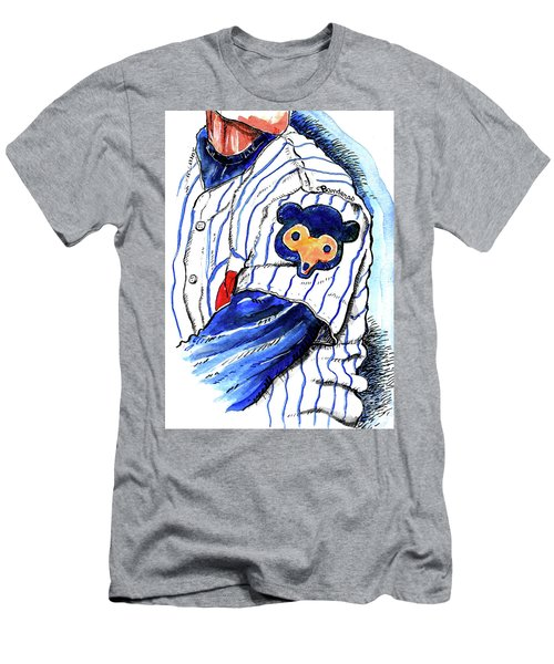 My Favorite Chicago Cub Men's T-Shirt (Athletic Fit)