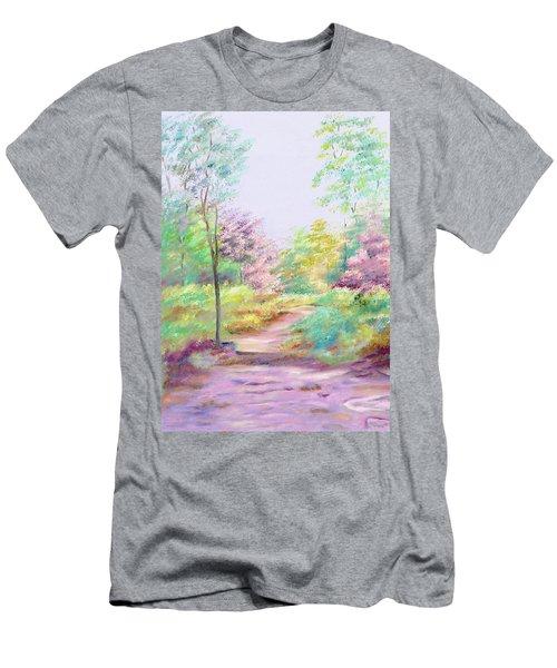 My Favourite Place Men's T-Shirt (Slim Fit) by Elizabeth Lock