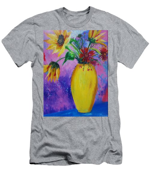 My Flowers Men's T-Shirt (Athletic Fit)