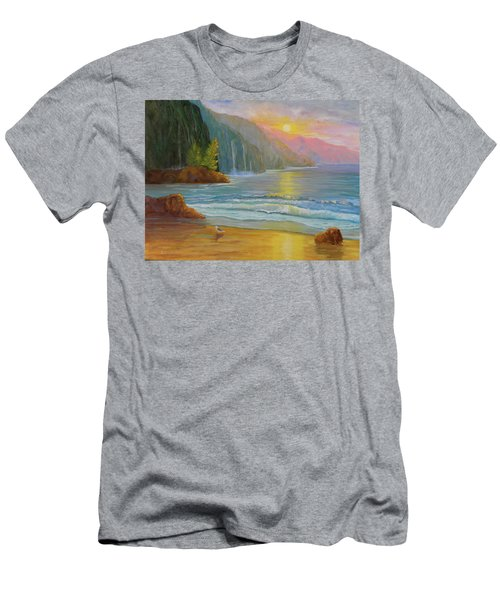 My Happy Place Men's T-Shirt (Athletic Fit)