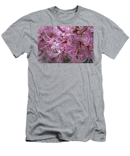 My Heart Is Pink Men's T-Shirt (Athletic Fit)