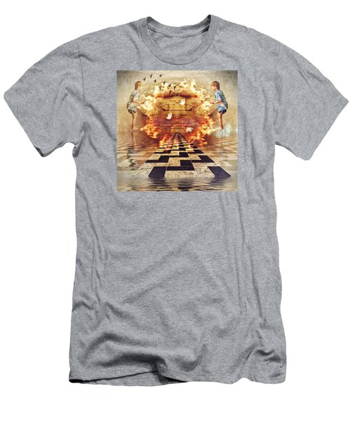 My Shadow's Reflection II Men's T-Shirt (Athletic Fit)