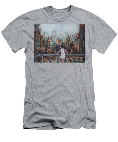 My View Men's T-Shirt (Athletic Fit)