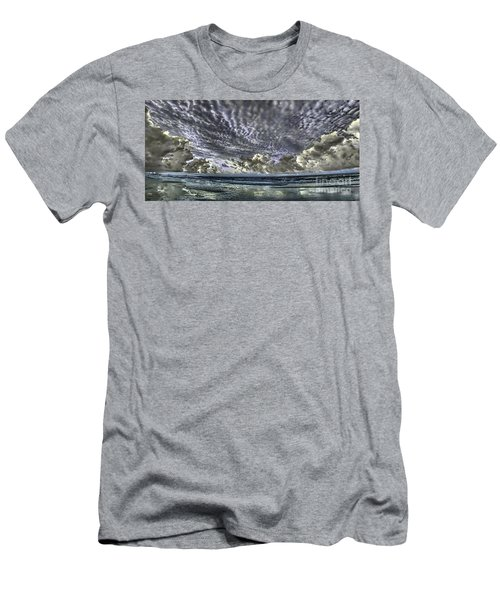 Myrtle Beach Hand Tinted Panorama Sunrise Men's T-Shirt (Athletic Fit)