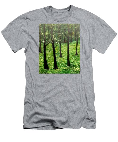 Mysterious Men's T-Shirt (Slim Fit) by Lisa Aerts