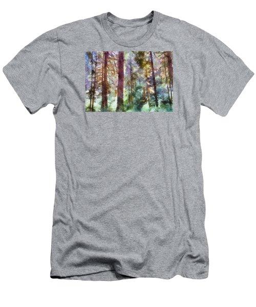 Mysterious Wood Men's T-Shirt (Athletic Fit)