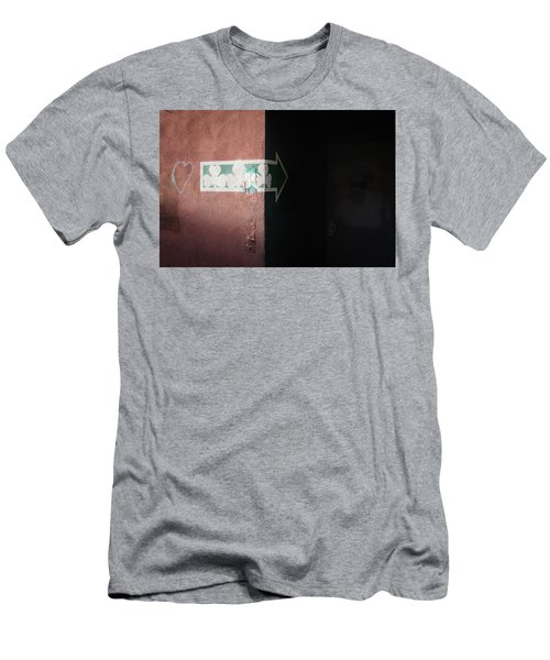 Men's T-Shirt (Athletic Fit) featuring the photograph Mystery In The Doorway by Monte Stevens