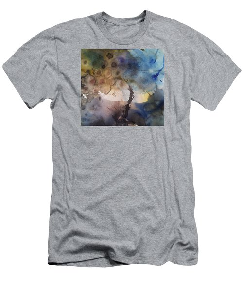 Mystery Tree Men's T-Shirt (Slim Fit) by Becky Chappell