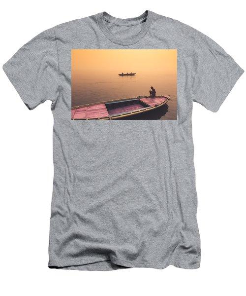 Mystic Ganges Men's T-Shirt (Athletic Fit)