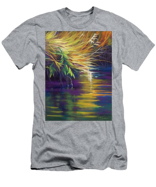 Mystic Grasses Men's T-Shirt (Athletic Fit)