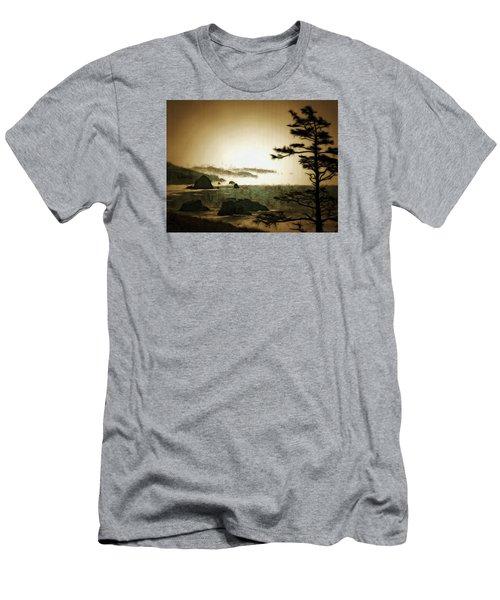 Mystic Landscapes Men's T-Shirt (Slim Fit) by Mario Carini