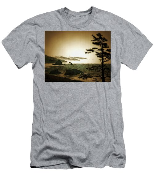 Mystic Landscapes Men's T-Shirt (Athletic Fit)