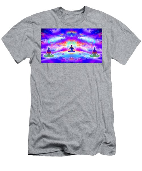 Men's T-Shirt (Athletic Fit) featuring the digital art Mystic Universe 10 by Derek Gedney