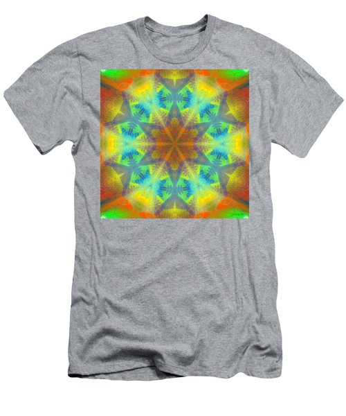 Men's T-Shirt (Athletic Fit) featuring the digital art Mystic Universe 9 Kk2 by Derek Gedney