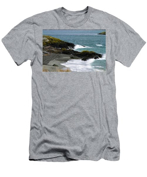 Mystic Wave Men's T-Shirt (Athletic Fit)
