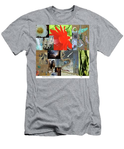 Mystical Desert Compilation Men's T-Shirt (Slim Fit) by Mary Ann  Leitch