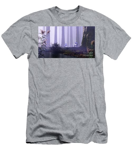 Mystical Forest Men's T-Shirt (Athletic Fit)