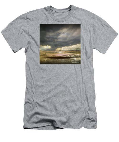 Mystical Light Men's T-Shirt (Slim Fit) by Franziskus Pfleghart